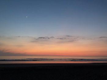 La Barossa Beach at Sunset